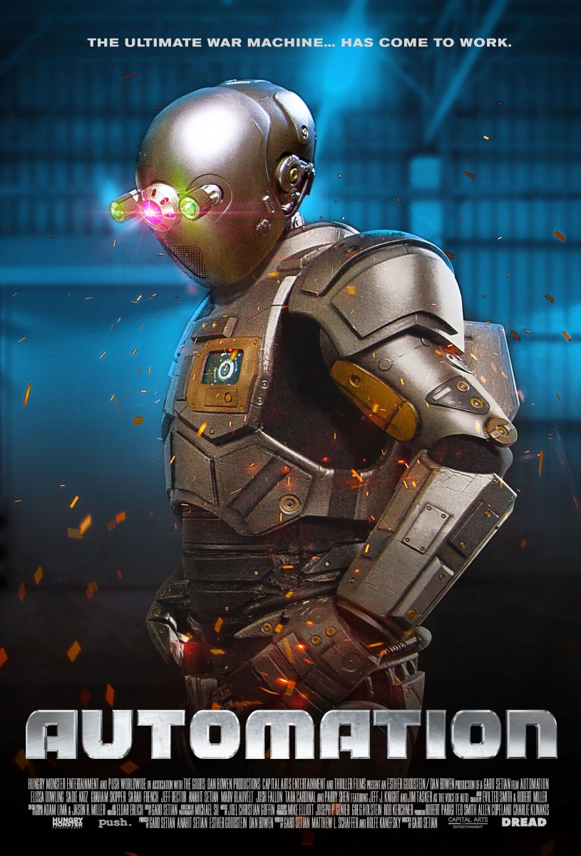 Your Next Viewing: Garo Setian's Workplace Man V. Machine Sci-Fi, AUTOMATION