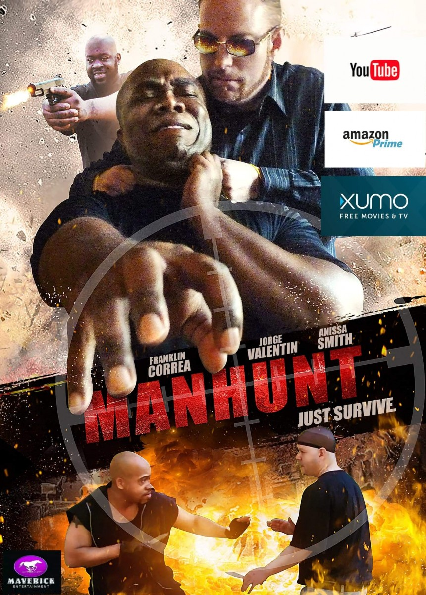 MANHUNT: Franklin Correa's Latest Thriller Launches On Multiple Platforms