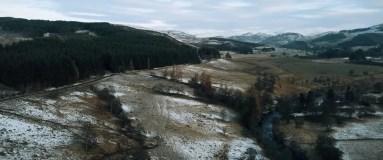 Shot of Scottish Highlands as seen in DEAD END: DEAD MAN WALKING, © Hybrid Films Ltd.