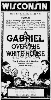 Gabriel Over The White House 11