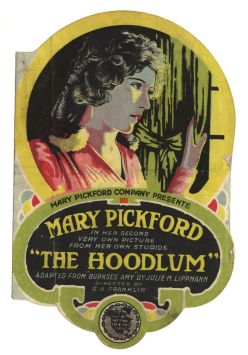 """Promotional flyer for """"The Hoodlum"""" (1919). Library of Congress Prints and Photographs Collection"""