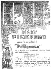Pollyanna_1920_advertisement_newspaper_Fairport_NY_Herald_1920-03-10