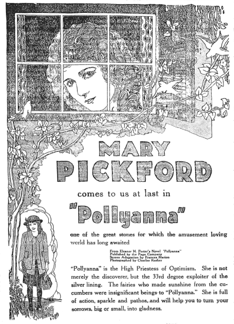 Pollyanna_1920_advertisement_newspaper_Fairport_NY_Herald_1920-03-10