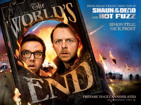 Film Doctor - Edgar Wright's The World's End movie poster