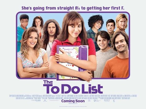 Film Doctor - The To Do List movie