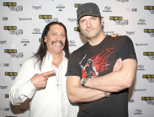 Film Doctor Danny Trejo and Robert Rodriguez