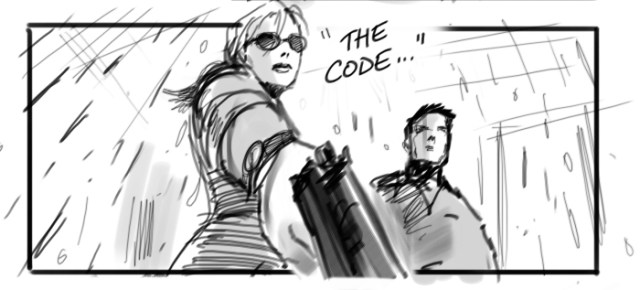 Edge of Tomorrow storyboard - David Allcock