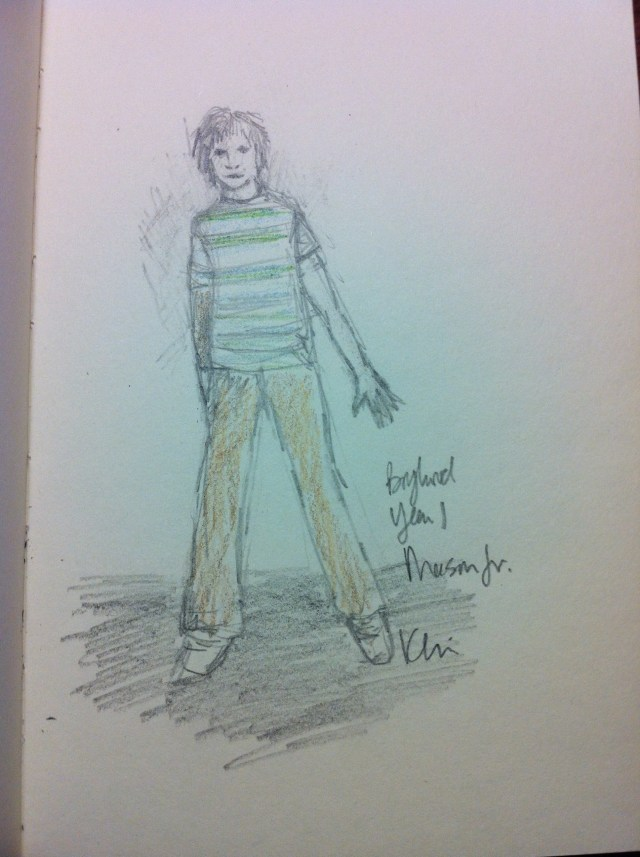Kari Perkins - Boyhood - Costume Sketch