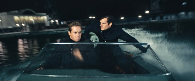 Armie Hammer and Henry Cavill in 'The Man from U.N.C.L.E. - Photo courtesy of- © (c) 2013 Warner Bros. Entertainment Inc.