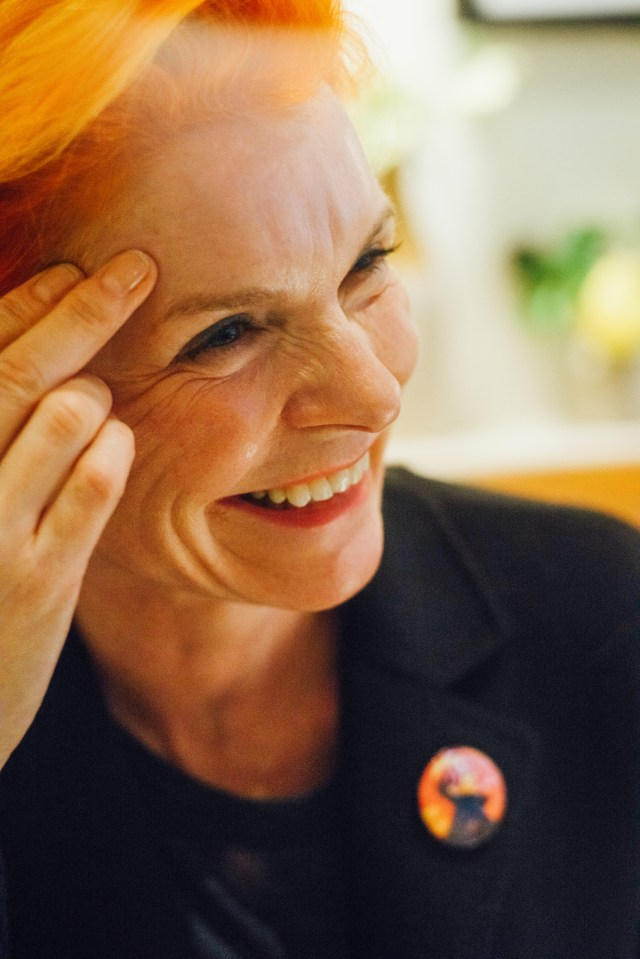Sandy Powell - photo by Edward Moore