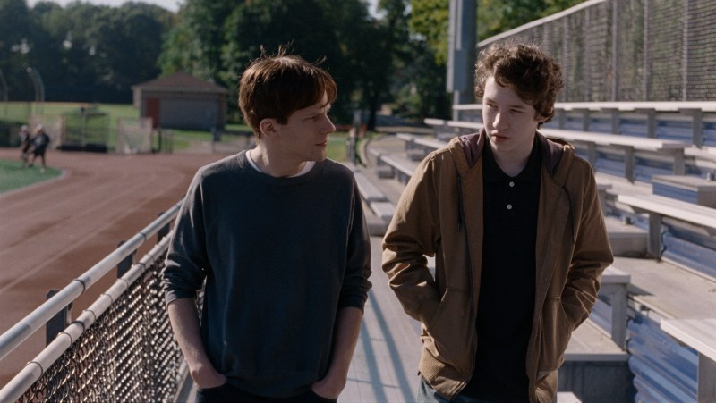 Jesse Eisenberg and Devin Druid in Joachim Trier's Louder Than Bombs