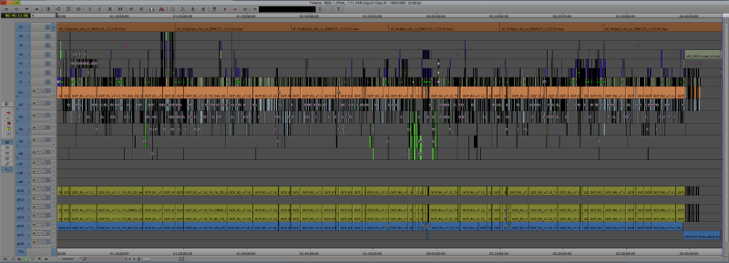 Office Christmas Party editing timeline Evan Henke