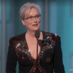 Meryl Streep and Ryan Gosling Golden Globes awards speeches 2017