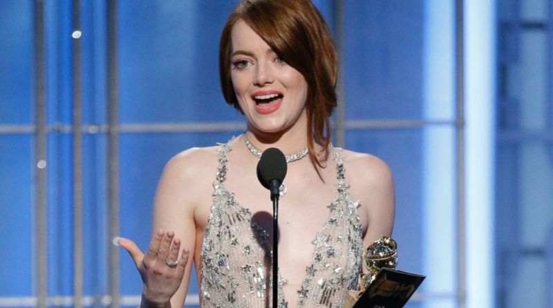 Emma Stone Golden Globes speech 2017