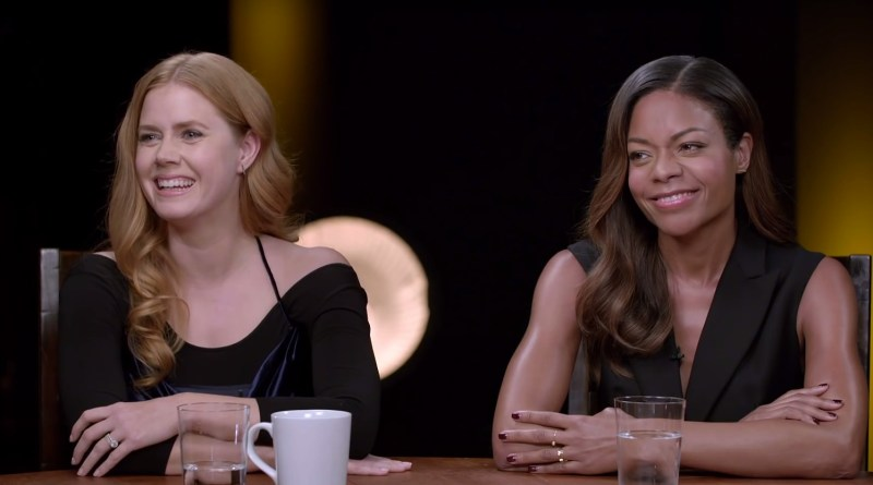 Oscars Academy awards movie star Emma Stone interview video La La Land Amy Adams Naomie Harris video
