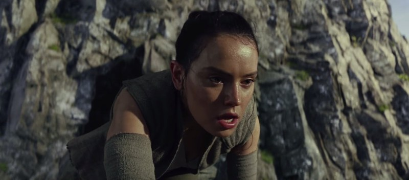Star Wars The Last Jedi movie trailer video footage clip