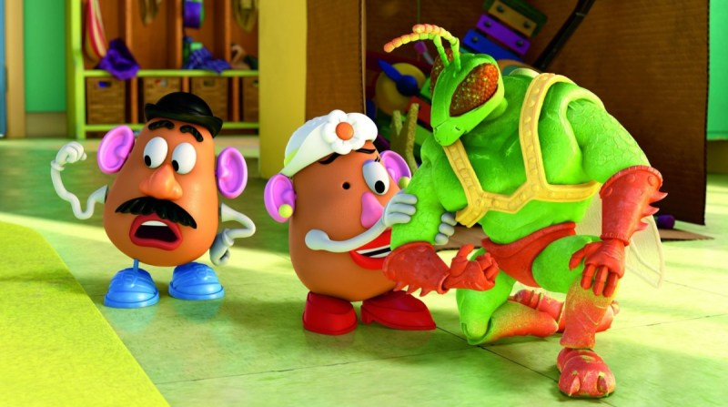 Don Rickles as Mr. Potato Head in Toy Story 3