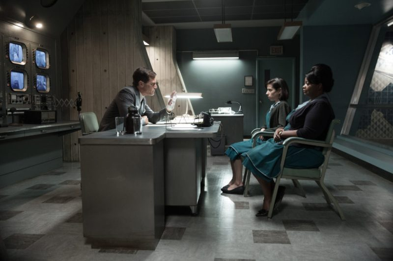 Michael Shannon, Octavia Spencer and Sally Hawkins in The Shape of Water