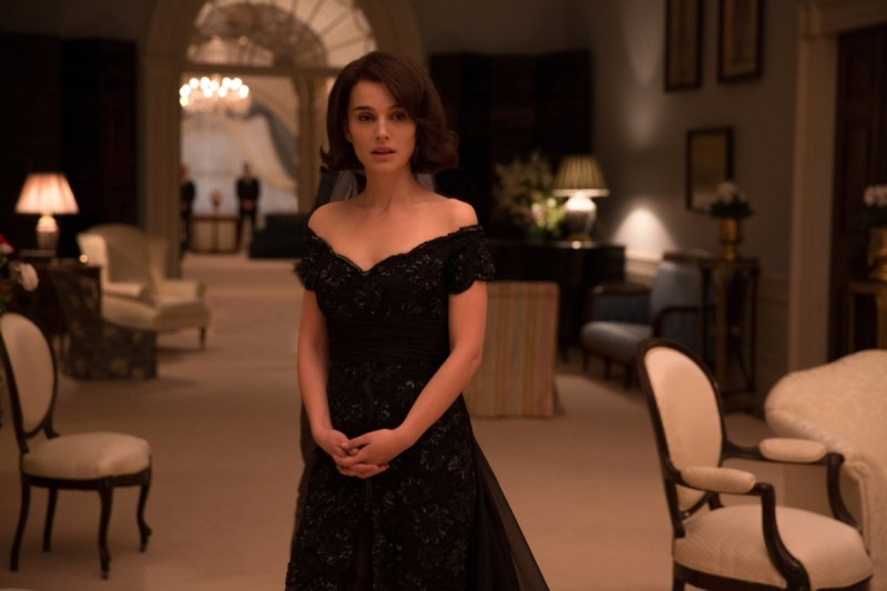 Movie actress Natalie Portman in BAFTA winning film Jackie