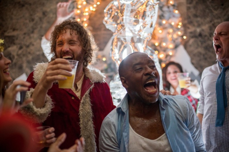 Office Christmas Party – photo by Glen Wilson – courtesy of Paramount Pictures