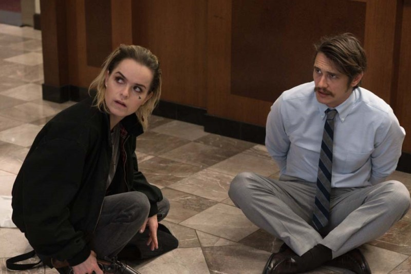 Taryn Manning and James Franco in The Vault