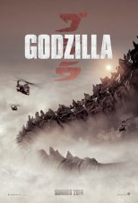 The exclusive GODZILLA Comic-Con 2013 poster style