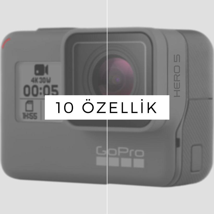 GoPro HERO5 Black Hakkında Bilmeniz Gereken 10 Özellik