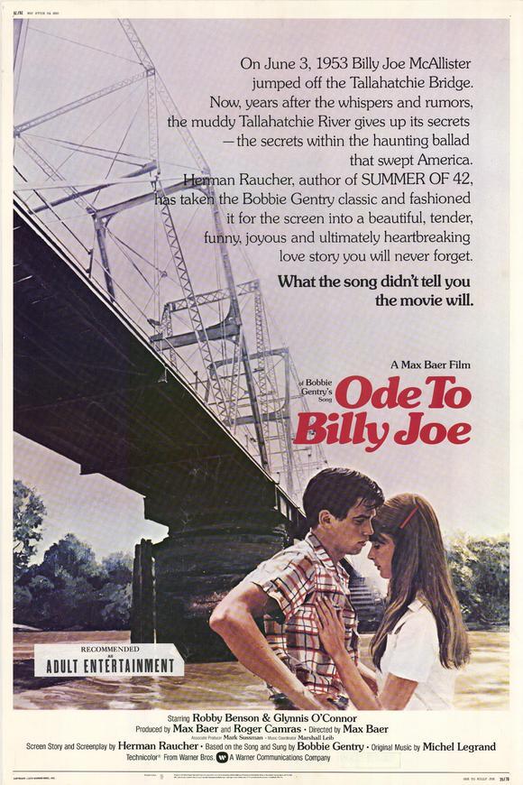 Lyric lyrics to ode to billy joe : FilmFanatic.org » Ode to Billy Joe (1976)