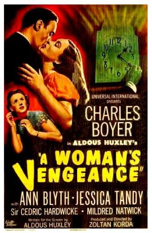 which of these is not suggested for writing a resume filmfanatic org 187 s vengeance a 1948 25637 | Womans Vengeance Poster