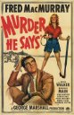 Murder He Says Poster