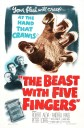 Beast With Five Fingers Poster