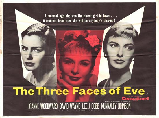 movie review 3 faces of eve She plays a conservative southern housewife eve white who transforms into a bold and bawdy woman eve black the movie the three faces of eve reviews his.