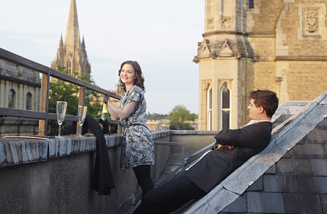 Miles and Lauren in Oxford. Photo: telegraph.co.uk
