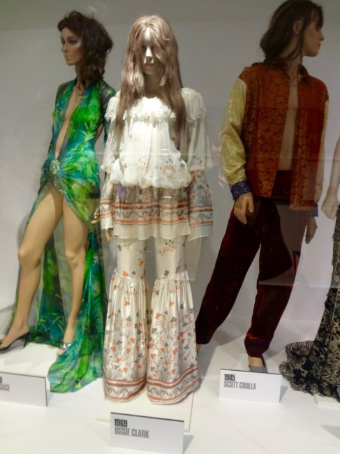 Dresses of the year 2000, 1969 and 1985