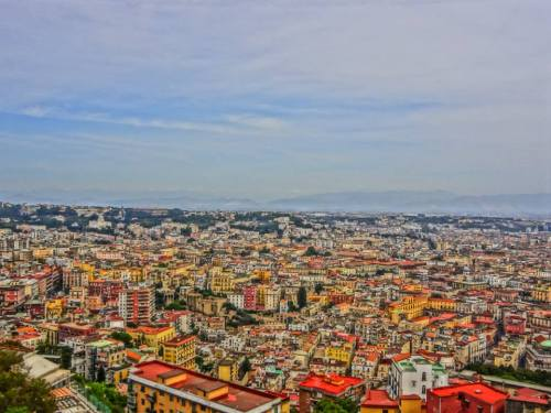 Naples from above