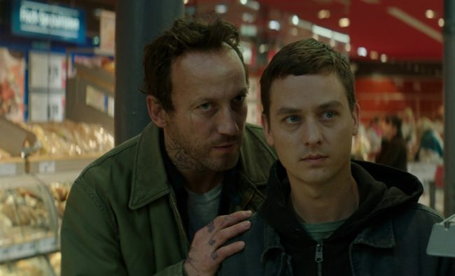 Life of Hackers: Wotan Wilke Möhring and Tom Schilling. © Sony Pictures
