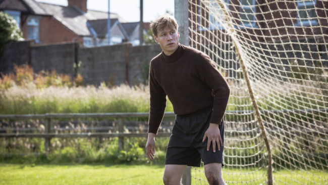 "David Kross in ""The Keeper"". © SquareOne Entertainment"