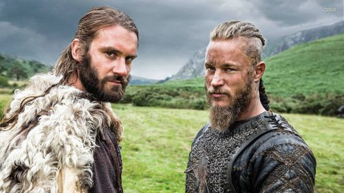 Rollo and Ragnar. Photo Source: Vikings / Facebook