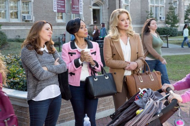 """Christina Applegate and her two sidekicks Annie Mumolo and Jada Pinkett Smith look like a """"grown up"""" version of the Mean Girls. Photo: STX Entertainment / Credit Michele K. Short"""