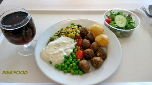 A meal at IKEA