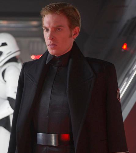 "Domhnall Gleeson in ""Star Wars"". Photo: IMDb"
