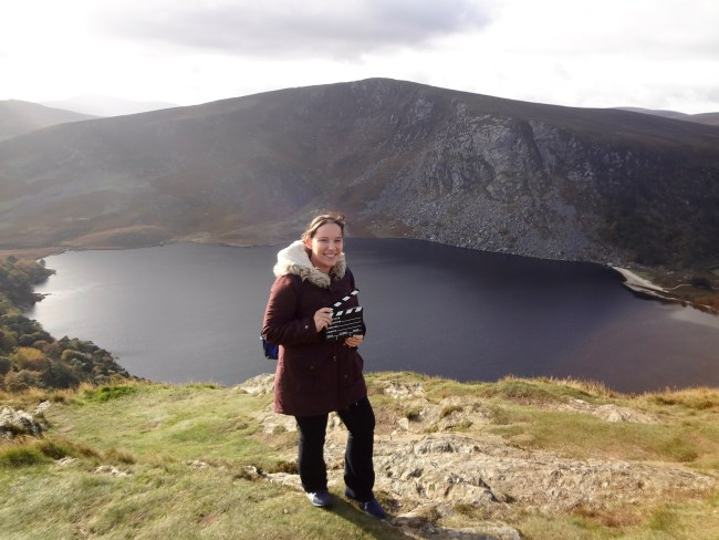 "At Wicklow Mountains – the filming location of ""Vikings"""