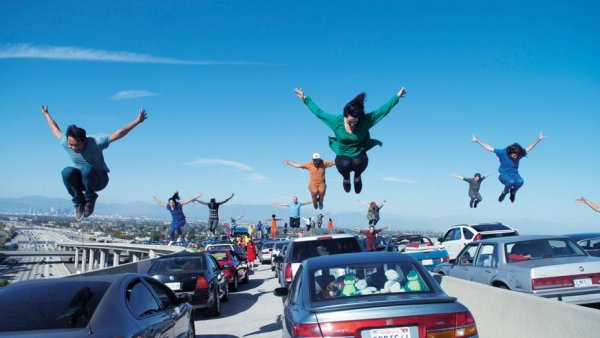 "Scene from ""La La Land"". Photo: Lionsgate"