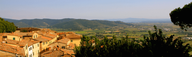 "Cortona, Italy – film location for ""Under the Tuscan Sun"". Photo: globalwanderings.ca"