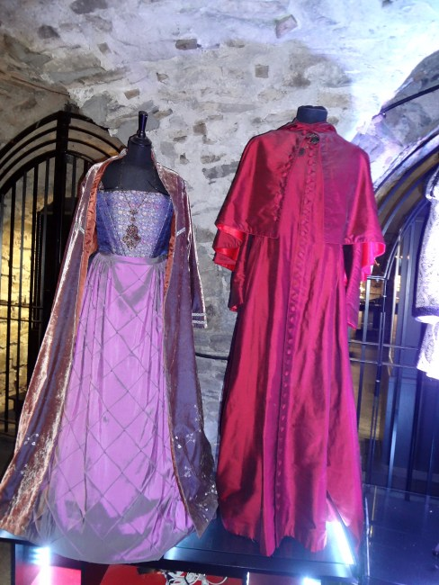 """Costume exhibition from """"The Tudors"""" in Christ Church Cathedral, Dublin. © Sonja Irani / filmfantravel.com"""