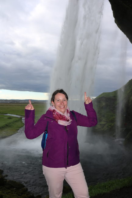 ... but you can go behind this waterfall!