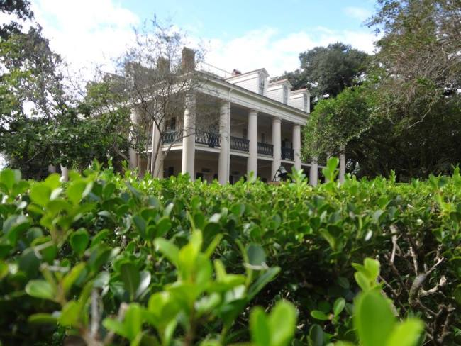 Oak Alley Plantation near New Orleans, Louisiana