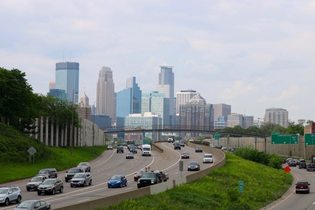 "Minneapolis, the largest city of Minnesota, is also called ""The Mini Apple"""