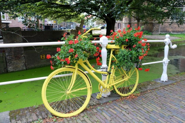 Bicycle in Delft