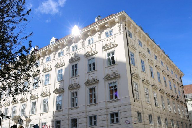 Vienna Jugendstil building. Photo: Sonja Irani / filmfantravel.com